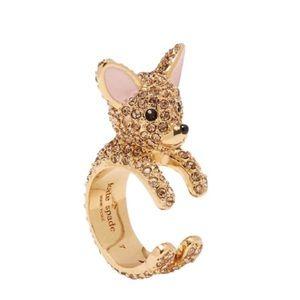 Kate Spade • Haute Stuff Chihuahua Ring